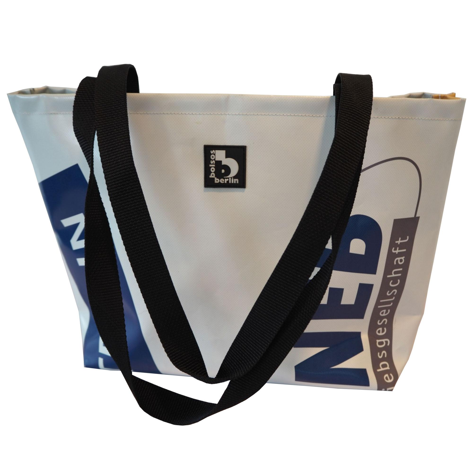 Shopping Bag aus recyceltem NEB-Banner